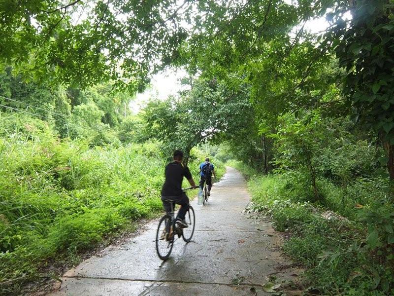 biking-in-cat-tien-national-park